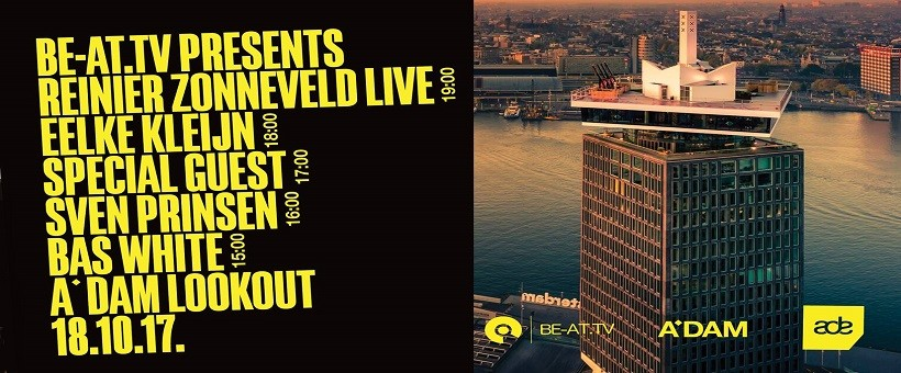 ADE 2017: BE-AT.TV presents at the A'DAM Toren