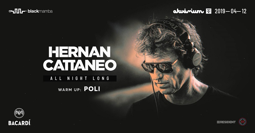 Hernan Cattaneo all night long at Akvárium Klub
