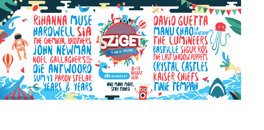Pat Duff - Sziget Festival, Colosseum Stage 16-08-2016 (StreamOn)