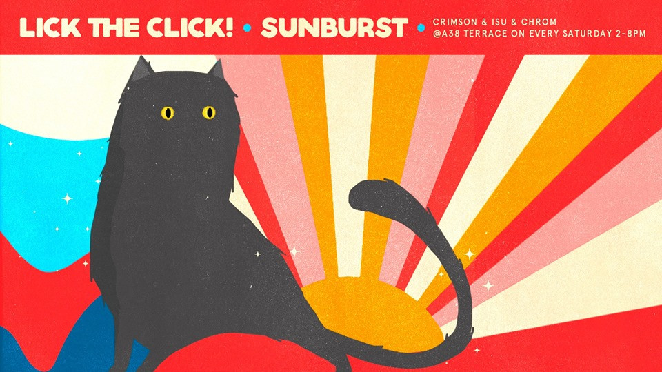Lick The Click! Sunburst #155 #StreamOn
